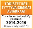 Todistetusti tyytyväisimmät asiakkaat 2014-2016